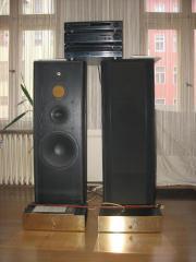 Komplette Stereoanlage
