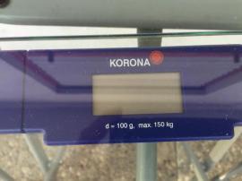 KORONA Körperwaage max 150KG aus: Kleinanzeigen aus Zirndorf - Rubrik Haushaltsgeräte, Hausrat, alles Sonstige