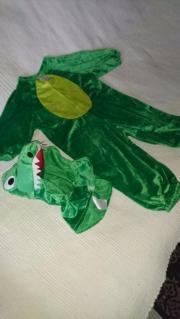 Krokodil Karnevalskostüm Fasnachtskostüm Faschingskostüm