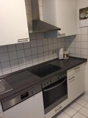 Küche neuwertig weiß ********