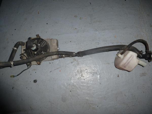 Kühler Honda Dylan 125