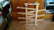 Kugelbahn aus Holz