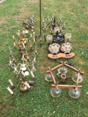 Lampen divers vintage 16 Stück
