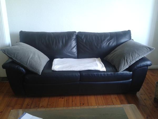 ledersofa ausziehbar modern sofa couch leder. Black Bedroom Furniture Sets. Home Design Ideas