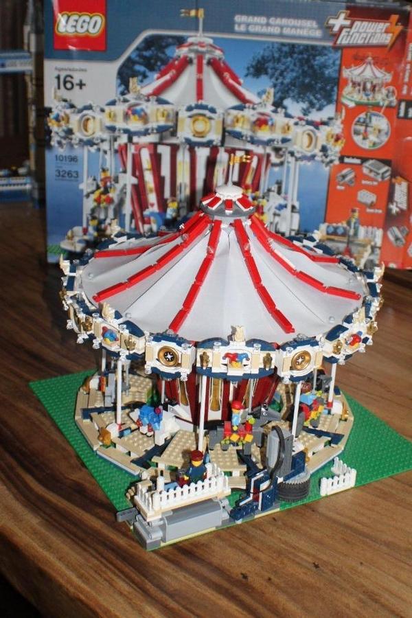 Lego karussell mit ovp und original in münchen
