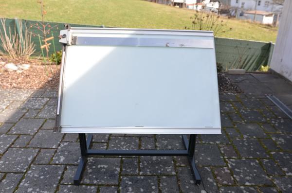Leuchttisch 100x70x80 cm mega stahl in l tzelbach for Schreibtisch 90x60
