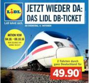 Lidl DB-Ticket: