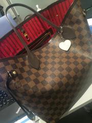 Louis Vuitton Shopper Braun