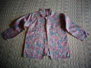 Mädchenbekleidung Bluse geblümt kl Streublumen
