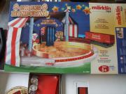 Märklin Circuszelt 2 Güterwagen Zustand