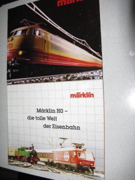 Modelleisenbahnen - Märklin Modelleisenbahnkataloge Spur HO