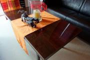 Mahagoni Holztisch (hochglanzlackiert) -