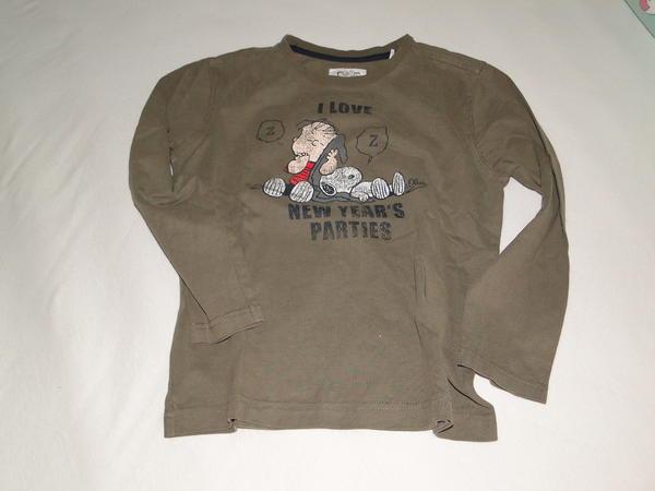 Markenkleidung Jungen - Stein - Sweatshirts, Longsleeves Gr. 116-128 (MEXX, Sanetta, ...), ab 4,- - Stein
