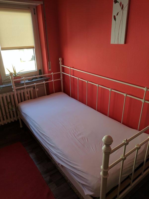 metallbett 90x200 gebraucht kaufen 4 st bis 60 g nstiger. Black Bedroom Furniture Sets. Home Design Ideas