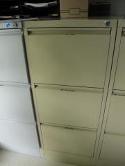 Metallhängeregistraturschrank Aktenschrank mit 3 Schubladen