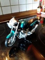 Modell MOTORRAD Grün