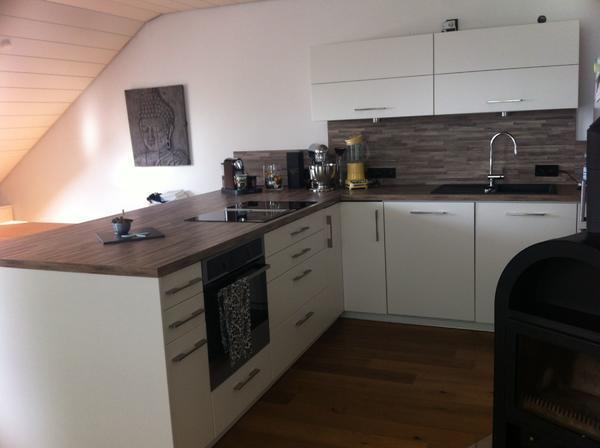 moderne einbauk che neuwertig in fellbach k chenzeilen. Black Bedroom Furniture Sets. Home Design Ideas