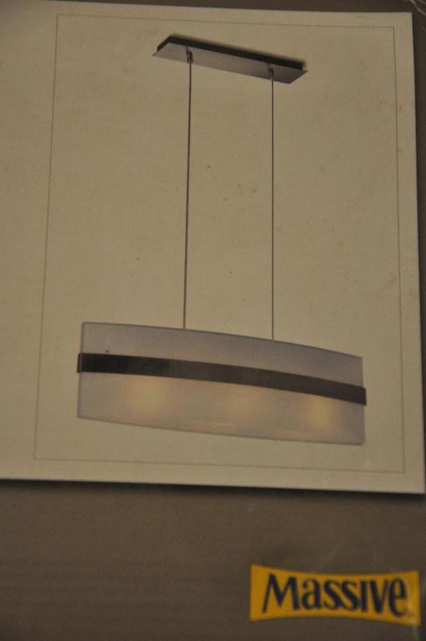 moderne esstischlampe zu verkaufen unbenutzt und originalverpackt in dudenhofen lampen. Black Bedroom Furniture Sets. Home Design Ideas