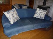 moderne Ledergarnitur Sofa