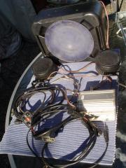 Musikanlage Helmfachanlage Roller