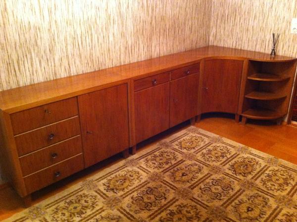 Wohnzimmerschrank Nussbaum Musterring Wandkommode Und Schrank 50er Jahre In