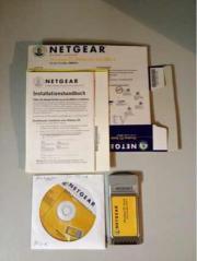 Net Gear PCMCIA mit CD