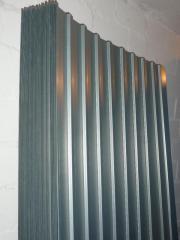 neu trapetzbleche metall verzinkt dach carport garage zaun. Black Bedroom Furniture Sets. Home Design Ideas