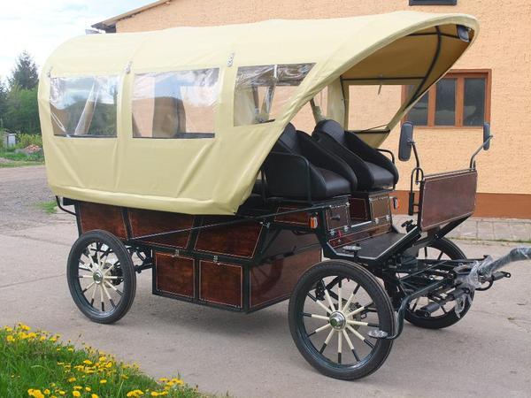Neuer Planwagen
