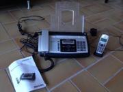 Normalpapierfax mit Telefon