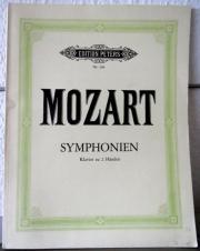 Noten: Mozart: Symphonien,