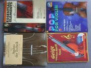 Notenhefte für Violine Musikschule - Vollständig