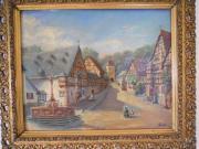 Ölgemälde vom Heimatmaler