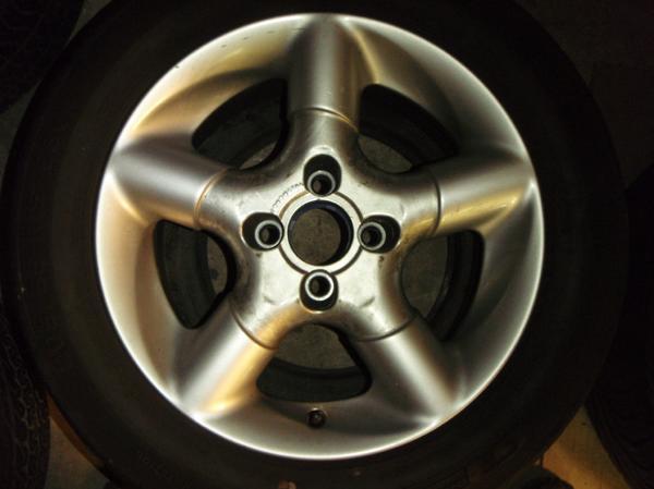Opel 4x Fondmetal TECH1 G3