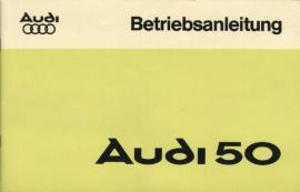 Original Betriebsanleitung Audi 50