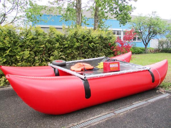 paddelboot ruder katamaran kanu schlauchboot in. Black Bedroom Furniture Sets. Home Design Ideas