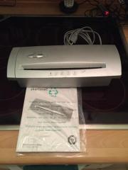 Papier Reisswolf Aufsatz für Papierkorb