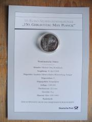 PASSENDES GESCHENK GESUCHT 10-EURO-SILBERGEDENKMÜNZEN-POSTSCHUBER PROCOLLECT-2007 - 2008