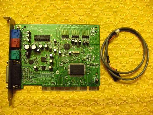 PC-SOUND PCI Karte CREATIVE LABS