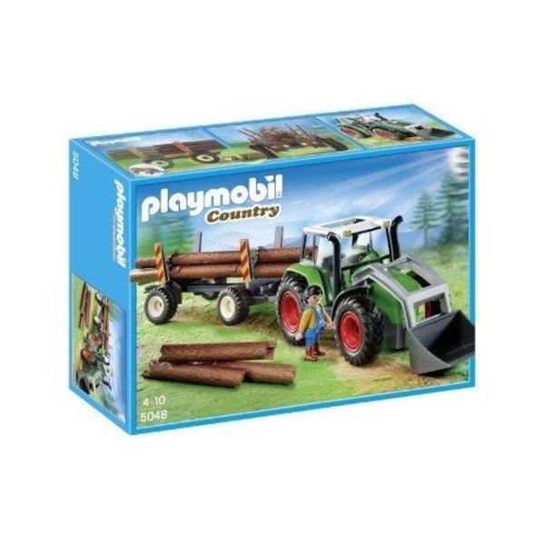 Playmobil Holztransporter 5048 - Heidelberg - Playmobil 5048 Holztransporter, Playmobil Country Holztraktor,Playmobil Auto, inkl. Originalkarton und Bauanleitung, NP 39 EUR. - Heidelberg
