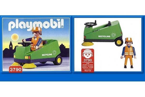 Playmobil kehrmaschine service city reinigung in neuwied