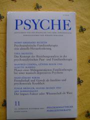 Psyche Zeitschrift für Psychoanalyse Jahrgänge