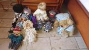 Puppen samlung