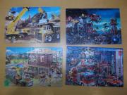 Puzzelkoffer Playmobil