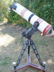 Rarität - Sternwarte - Teleskop - Refraktor - großes