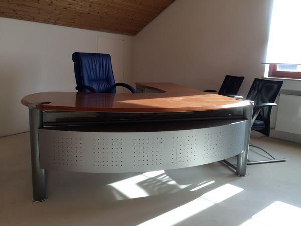 Repräsentativer Schreibtisch, Chef-/ Empfangs-Schreibtisch in ...