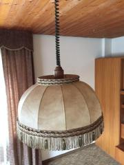 retro lampe mit fransen in renningen lampen kaufen und verkaufen ber private kleinanzeigen. Black Bedroom Furniture Sets. Home Design Ideas