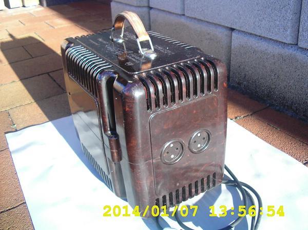 RFT Spannungsgleichhalter 1950er Jahre-Bakelit-Antik-Technik-DDR