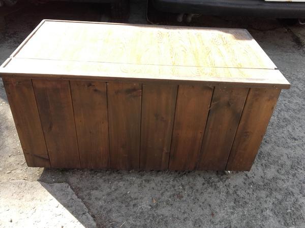 Kiste Mit Rollen robuste schatztruhe truhe kiste rechteckiger behälter braun deckel