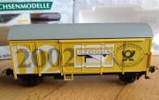 Sachsenmodelle Güterwagen 78795 Post Jahreswagen 2002