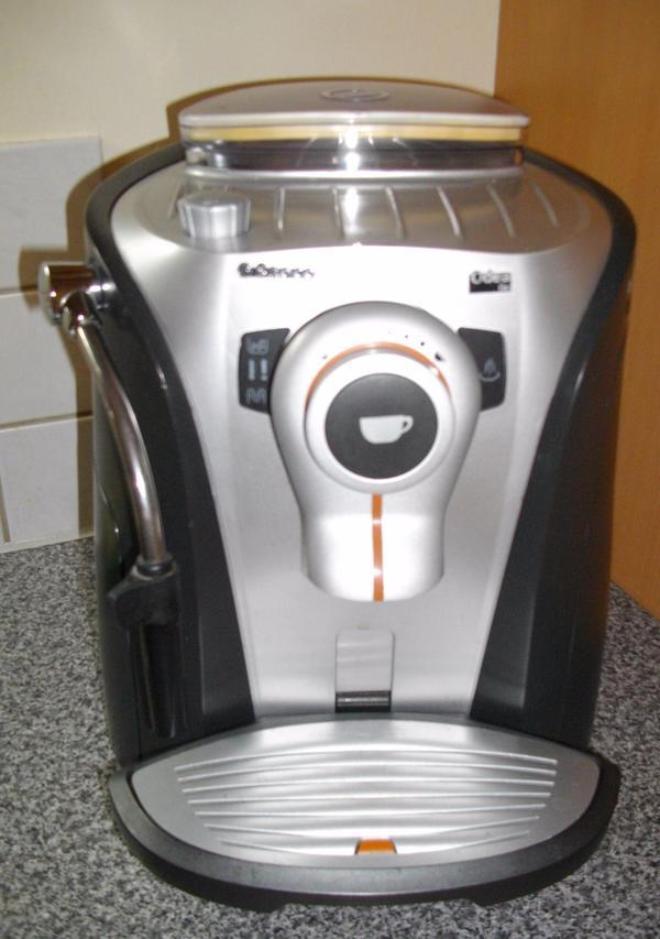 saeco kaffee vollautomat kaffeemaschine nichtraucherhaushalt in weiler haushaltsger te. Black Bedroom Furniture Sets. Home Design Ideas